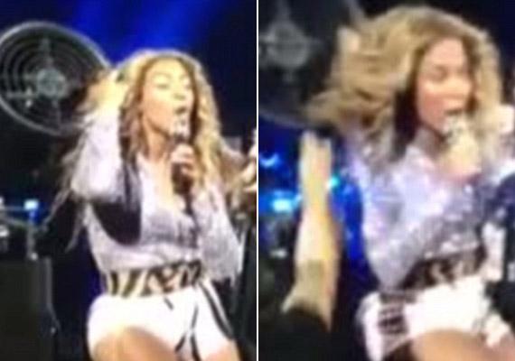 Volt már olyan is, hogy koncert közben a haja beakadt a szélgépbe, de még akkor is énekelt, amikor a biztonságiak próbálták kiszabadítani.