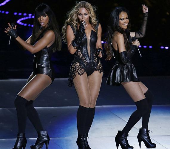A döntő erejéig újra összeállt a Destiny's Child, és egy fergeteges műsort nyomtak.