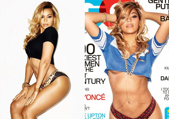 Igazán pimasz oldalát mutatta meg az énekesnő a GQ magazin számára készített fotókon.