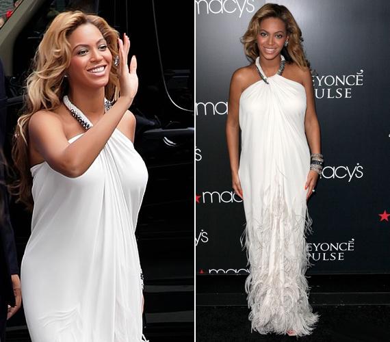 Beyoncé a Macy's-ben kezdte a Pulse parfüm promóciós körét, előtte pedig a House of Deréon divatbemutatóján lépett fel mint modell.