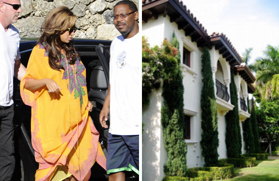 Beyoncé Knowles nagy pocakkal nézegette a luxuslakásokat Miamiban.