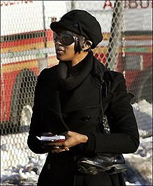 Naomi Campbell közmunkán