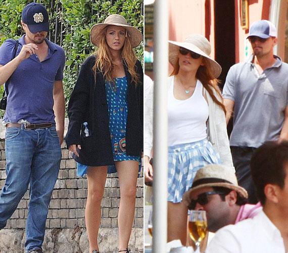 Blake Lively-t és Leonardo DiCapriót júniusban Veronában fotózták le együtt, de meglátogatták már Disneylandet is.