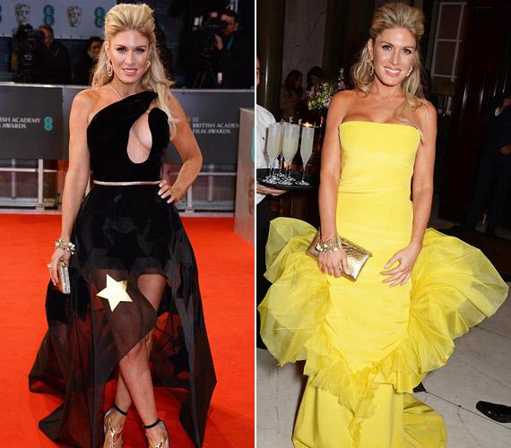 Hofit Gola két ruhában is parádézott a BAFTA-n, egyik sem volt jó választás.
