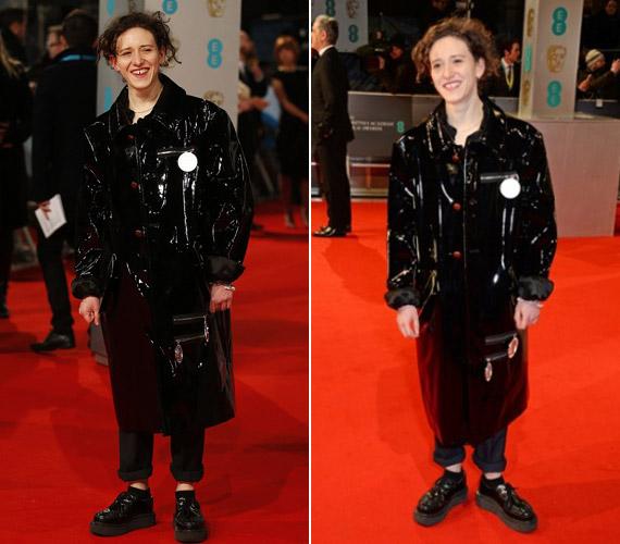 A BAFTA-átadón Mica Levi kapta a legfurábban kinéző sztár címét.