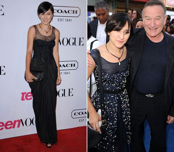 A 22 éves Zelda Williams Robin Williams egyetlen lánya, és híres édesapja nyomdokait követve szintén a színészi pályát választotta.
