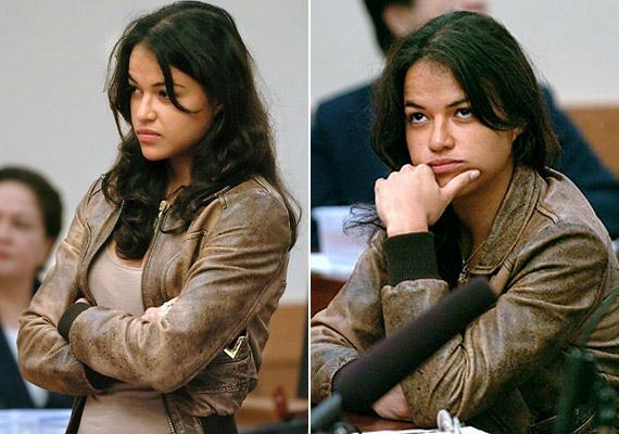 A Lostból ismert Michelle Rodriguezt 2007-ben ítélték el 180 napra, ám a börtön túlzsúfoltsága miatt mindössze 18 nap után kiengedték - Kaliforniában ugyanis van olyan törvény, amely kimondja, hogy a nem erőszakos cselekedetekért börtönbe zárt női rabok ilyen esetekben büntetési idejük tizedének letöltése után szabadulhatnak. Rodriguez azért került börtönbe, mert nem sikerült igazolnia egy korábbi ittas vezetés és közlekedési szabálysértés miatt kiszabott közmunka elvégzését.