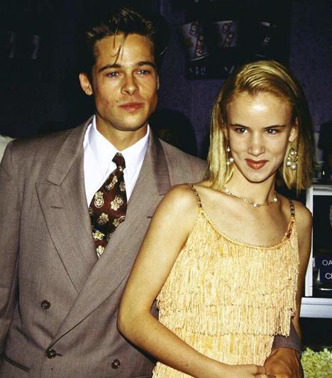 Juliette Lewis-szel  Brad Pitt Juliette Lewis oldalán. Együtt szerepeltek az 1993-as, kevéssé ismert Kalifornia - A halál nem utazik egyedül című trhillerben, amiben Pitt egy pszichopata sorozatgyilkost formált meg elemi erővel.