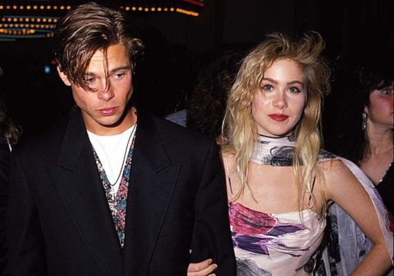 1989-ben, Az MTV Music Award díjkiosztóján Brad Pitt volt az akkor már híres Christina Applegate titokzatos kísérője. Az ünnepségre mint pár érkeztek, Applegate kisasszony az akkoriban felfutó Egy rém rendes család című sorozat népszerűsége miatt az egekben járt. Az este nem várt csalódást hozott Pitt számára, ugyanis választottja haza már nem vele ment.