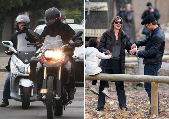 Brad Pittet egyébként Angelina Jolie és gyermekeik is elkísérik majd a magyarországi forgatásra - akárcsak tavaly.