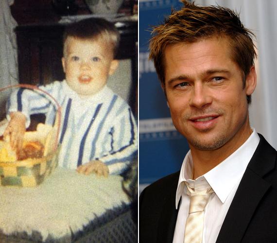 Brad Pitt mindössze egyéves volt, amikor az első filmjében szerepelt.