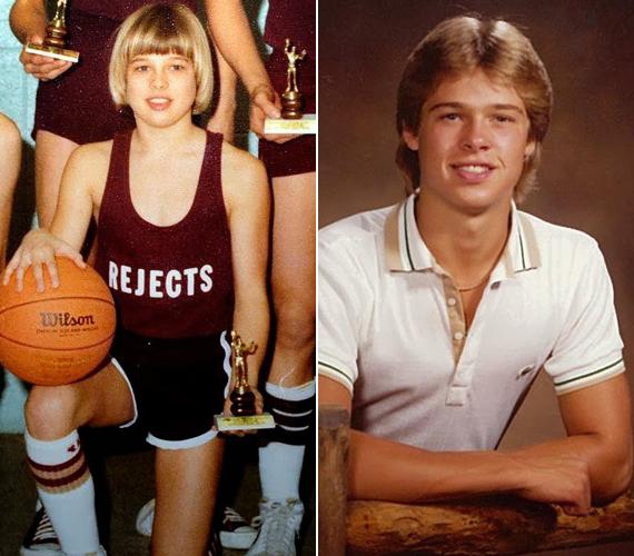 A Kickapoo középiskola diákjaként Pitt többféle sportot űzött, rendszeresen részt vett iskolai vitakörökben, és musicalekben is játszott.