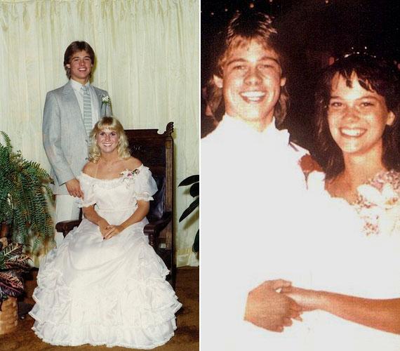 Barátnőjével, Tonya Westphalennel 1979 körül (balra), és későbbi barátnőjével, Sara Harttal 1982 körül (jobbra).