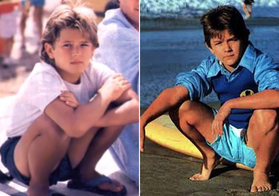 Ez a két fotó 1989-ben még a Baywatch forgatásán készült róla. Ekkor még örült a csillogásnak.