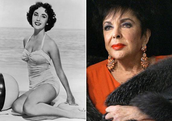 Elizabeth Taylor Oscar-díjas színésznő nyolcszor kötött házasságot, ebből kétszer Richard Burton színésszel, aki első feleségét hagyta el miatta. Az egykori szexikon 2011-ben, 79 évesen szívelégtelenségben halt meg.