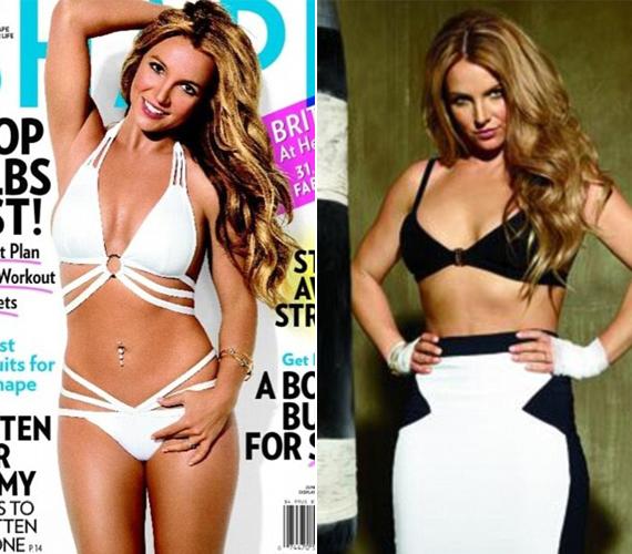 A képek tanúsága szerint Britney Spearsnek nem a gyémántok, hanem a Photoshop a legjobb barátja. A popdíva fürdőruhában pózol ugyanis a Shape magazin címlapján, ahol a bőre és az alakja is tökéletes.