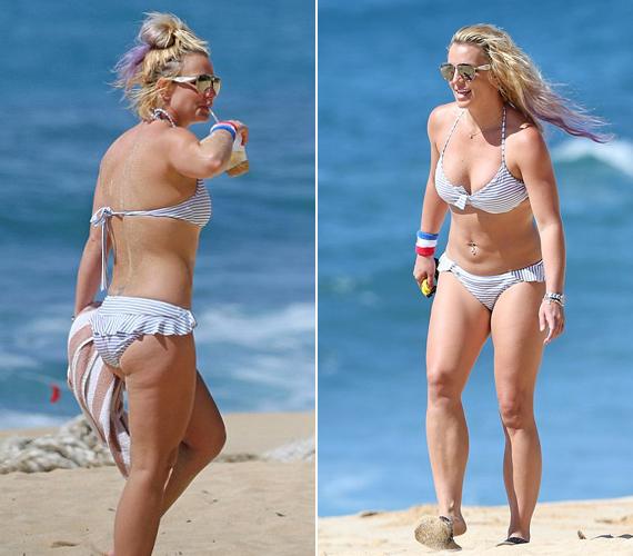 Britney Spears egyre jobban hasonlít egykori önmagára, amit azért is jó látni, mert sokan féltek, megint összeomlik, miután nemrég szakított barátjával.