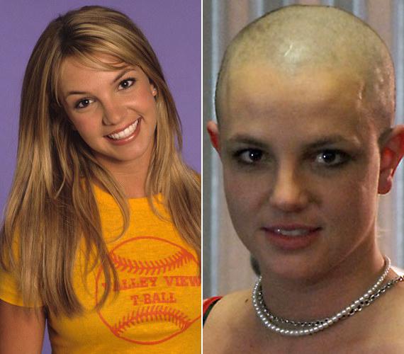Bájos szőke lánynak ismertük meg, 2007-ben pedig mindenki azt hitte, megőrült, amikor kopaszra borotválta a fejét, holott a drogtesztet akarta elkerülni ezzel.