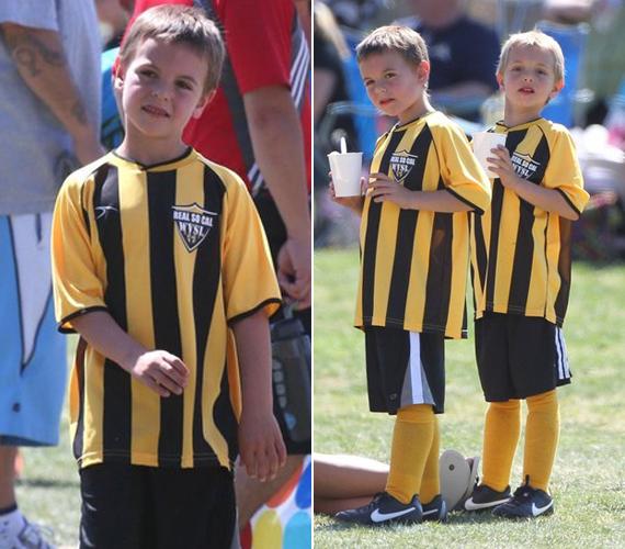 Az aktív gyerekek már most szeretik a sportokat, kedvencük a foci.