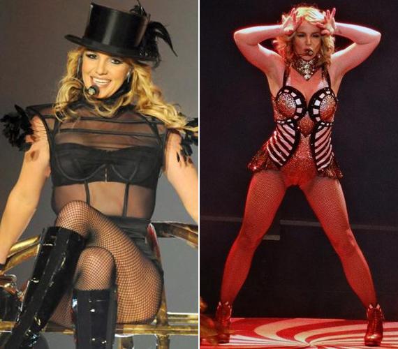 A 32 éves énekesnő fogyása óta szereti magát szexi fellépőruhákban mutogatni.