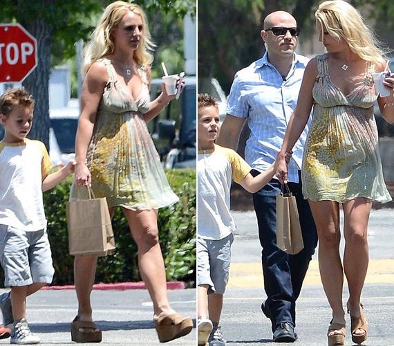 Britney Spears a házassága megromlása és a sorozatos szerelmi kudarcok után úgy tűnik, magára talált. Lefogyott és egyre merészebben öltözik.