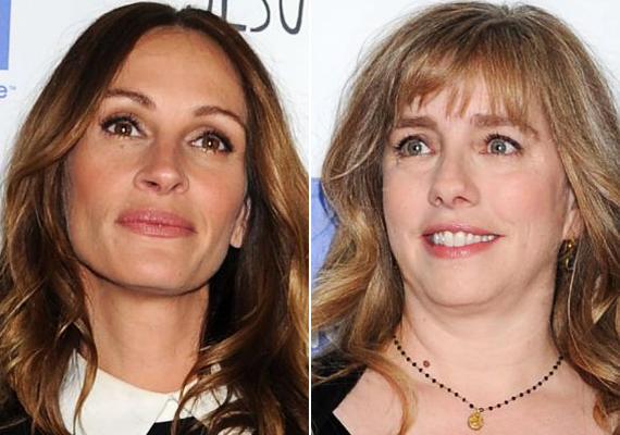 Julia Roberts és szintén színésznő testvére, Lisa Roberts Gillian nem sokban hasonlít.