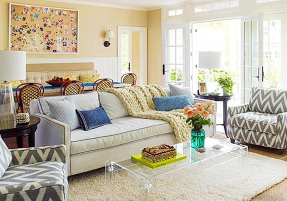 Brooke Shields azt is elárulta, a lakberendezés, ötletelés számára egy olyan hobbi, ami segíti levezetni a feszültséget és a stresszt, ami a hétköznapokban éri.