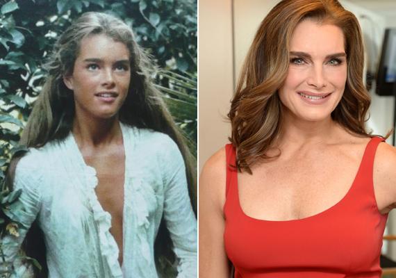 Pontosan 36 év telt el a két fotó készülte között, azonban a színésznő alig változott valamit. 50 felett is olyan gyönyörű, mint fiatalon.