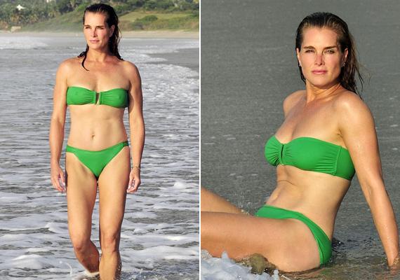 Januárban megjelent bikinis fotóitól még a szavunk is elakad. Karcsú alakját még a fiatalabbak is megirigyelhetik.