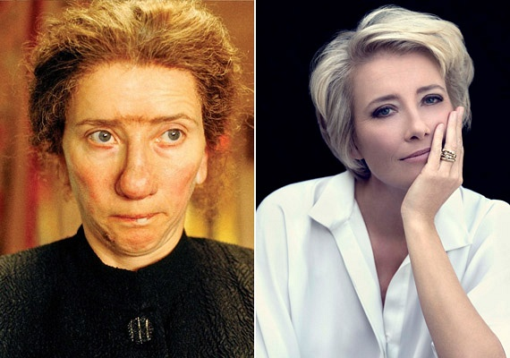 A Harry Potter-filmek nézőimár tudják, hogy Emma Thompson igazi átváltozóművész, azonban a Nanny McPhee című filmben így is alig lehetett ráismerni.