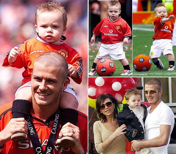 Brooklyn Joseph Beckham 1999. március 4-én született Londonban. Ő David és Victoria Beckham elsőszülött fia, aki természetesen már korán elkezdte rúgni a bőrt.