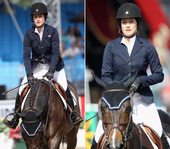 Jessica Springsteen imádja a lovakat, 2011 májusában versenyzőként részt vett a Windsor Horse Show-n.
