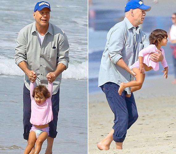 Bruce Willis rajong legkisebb lányáért és azt nyilatkozta, nem bánná, ha az ötödik gyermeke is az lenne, bár szíve szerint azért egy fiúnak jobban örülne most már.