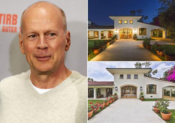 1982-ben épült a spanyol stílusú hacienda, amit Bruce Willis kilenc évvel ezelőtt vásárolt meg.