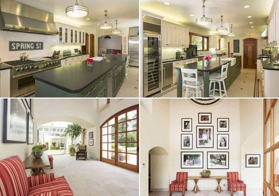 A minimalista stílus uralkodik mindenhol, ugyanakkor a fényűző elemekkel sem fukarkodott a tervező és a tulajdonos. A konyha teljesen modernizált.