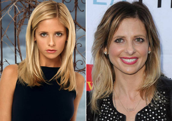 A sorozat egykori főszereplője, Sarah Michelle Gellar idén lesz 40 éves. Buffy Anne Summers megformálója olyan ismert filmekben szerepelt még, mint a Kegyetlen játékok, a Tudom, mit tettél tavaly nyáron vagy a Scooby-Doo. 2002-ben Freddie Prinze Jr. színésszel kötötte össze az életét. A házaspárnak két gyermeke van: a 2009-ben világra jött Charlotte Grace és a 2012-ben született Rocky James.