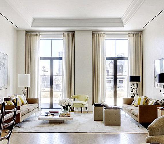 A másik nappali világos, kiválóan alkalmas vendégek fogadására.