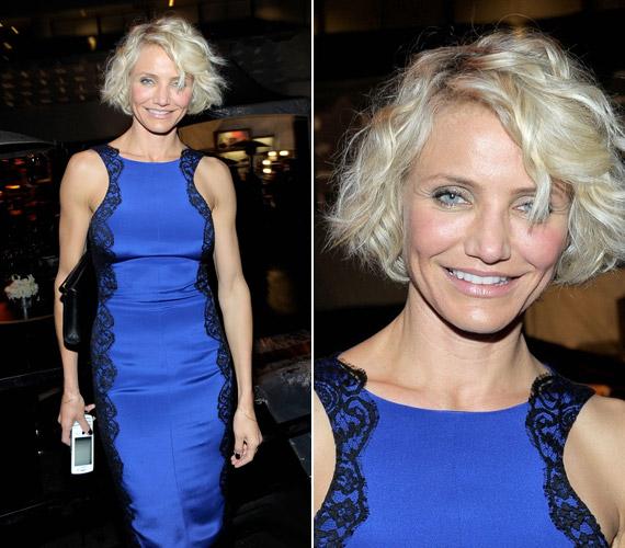 A sztár a Golden Globe-díjkiosztó gála utáni afterpartin mutatta be a világnak új frizuráját.