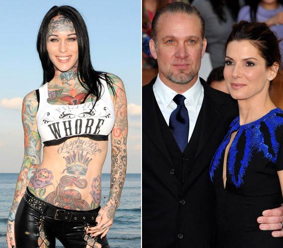 Az agyontetováltMichelle McGee-ért hagyta ott Sandra Bullockot férje,Jesse James, aki már házasságuk alatt is többször megcsalta a színésznőt.