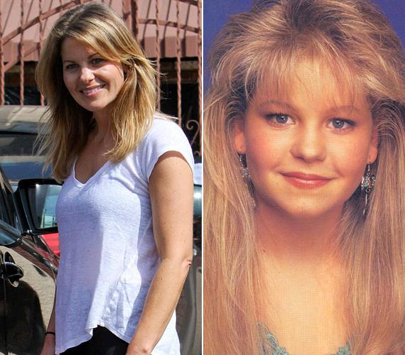 Szerencsére a színésznő nem ragadt be a 80-as évek frizuradivatjába.