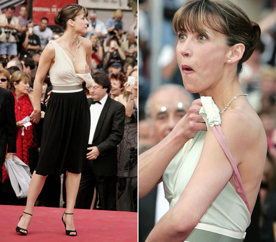 A 2005-ös fesztivál egyik emlékezetes pillanatáról Sophie Marceau gondoskodott, bár feltehetően ő pirulva emlékszik vissza a történtekre. A francia színésznő ugyanis egy ideig észre sem vette, hogy ruhájának egyik pántja lecsúszott, ország-világ elé tárva fedetlen keblét.