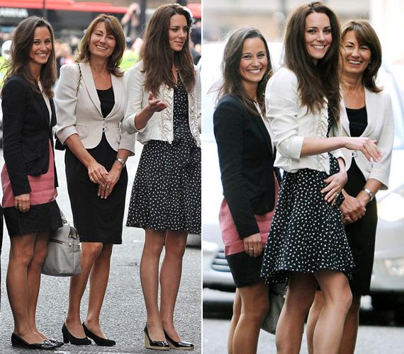 Nem nehéz eldönteni, kitől örökölte irigylésre méltó lábait Pippa és Katalin hercegné.