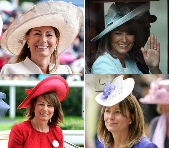 Egy elegáns hölgy a királyi ház eseményein nem jelenik meg kalap nélkül.
