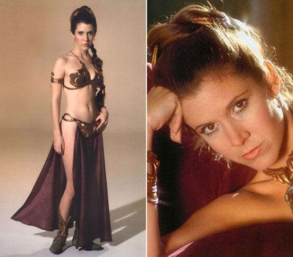 A Csillagok háborúja trilógiában a nők irigyelték a szépségét, a férfiak pedig róla fantáziáltak falatnyi bikinijében.