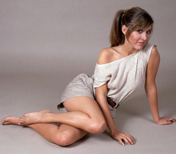 Pedig hajdanán ilyen dögös fiatal lányként pózolt a kamerának - a bájosan szexi Leia hercegnőért férfiak ezrei rajongtak fénykorában.
