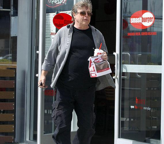 Persze filmbeli testvére, Mark Hamill is jócskán felszedett magára súlyfelesleget - talán nem kellett volna olyan gyakran gyorsétterembe járnia.