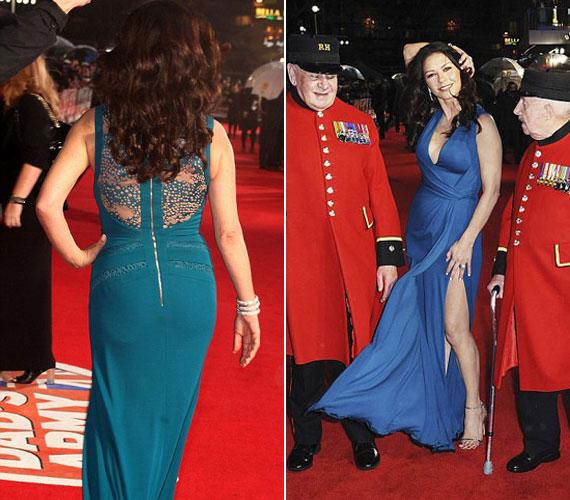 A figyelem középpontjában: a színésznő chelsea-i nyugdíjasokkal vonult a vörös szőnyegen, minden szempár rászegeződött.