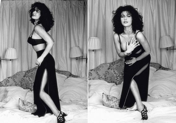 Catherine Zeta-Jones az ágyban pózol, egy szál semmiben, a mellét takargatva - ilyen szexi pózban azelőtt csak a férje láthatta.