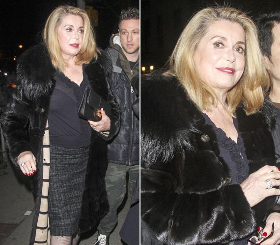 A színésznő azt mondta, csalódott az Oscar-gálában, mert a mai színésznők mind ziláltnak tűntek, és egyáltalán nem a filmek jelentik a lényeget ma már, csak a ruhák meg a smink.