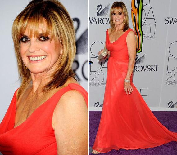 Linda Gray, a Dallas Samanthája 74 évesen is a vörös szőnyeg szépe.